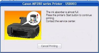 MP287 error E08